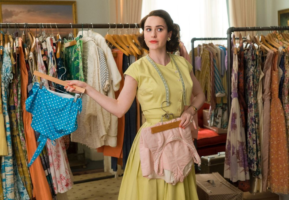 Toda la estética de The Marvelous Mrs. Maisel es un puro deleite...