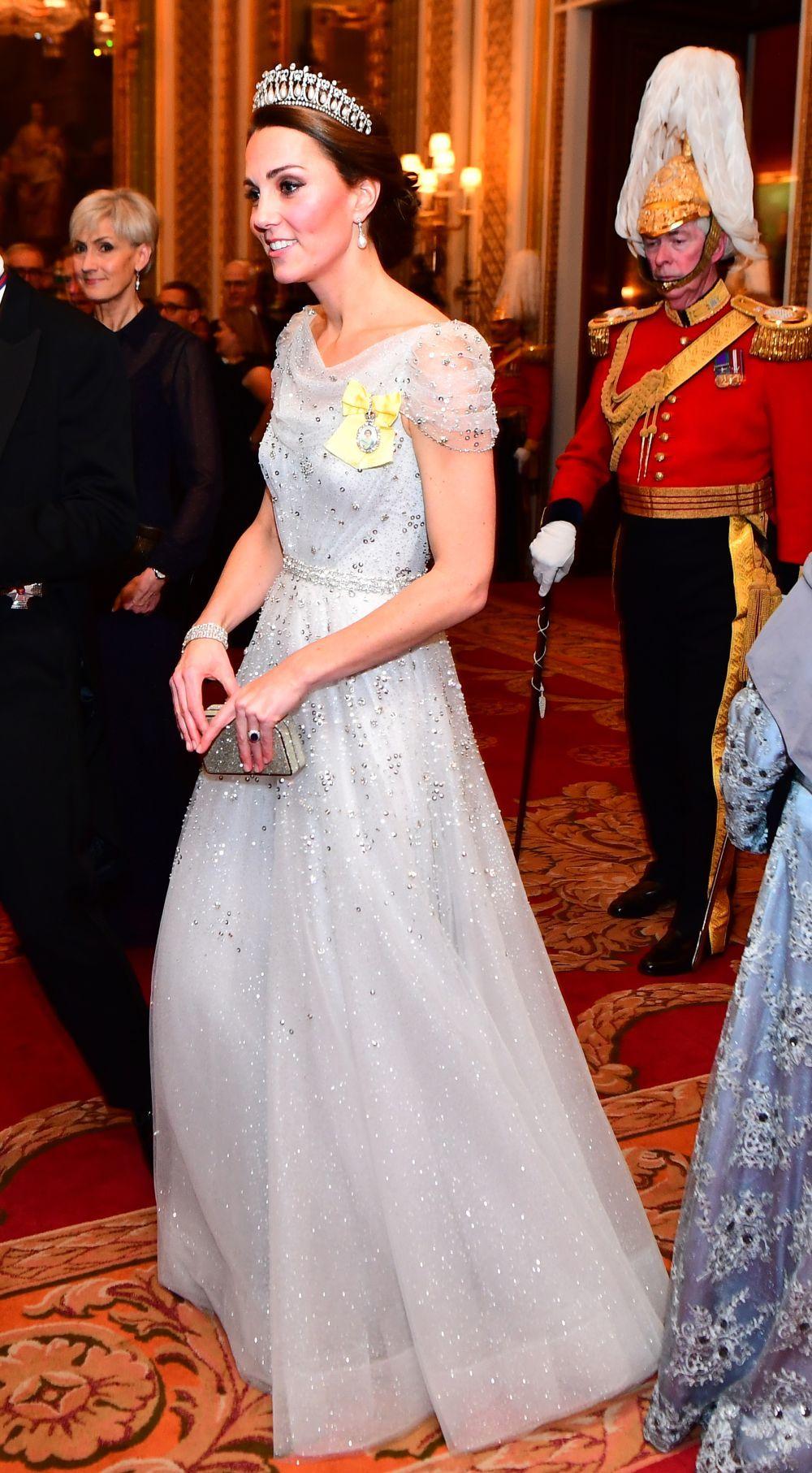Este vestido es un diseño de Jenny Packham