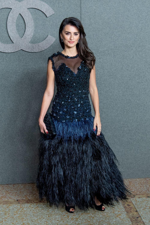 Penélope Cruz ayer en el desfile de Chanel.