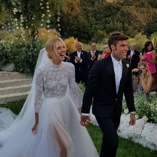 La influencer italiana se casaba el día 1 de septiembre con el...