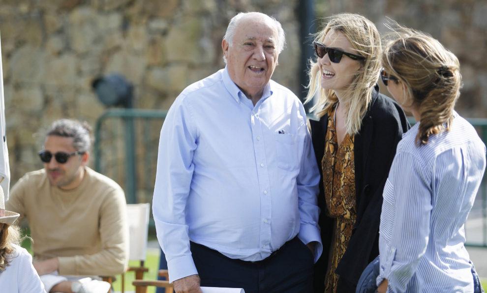 Amancio Ortega junto a su hija y heredera de Zara, Marta Ortega.