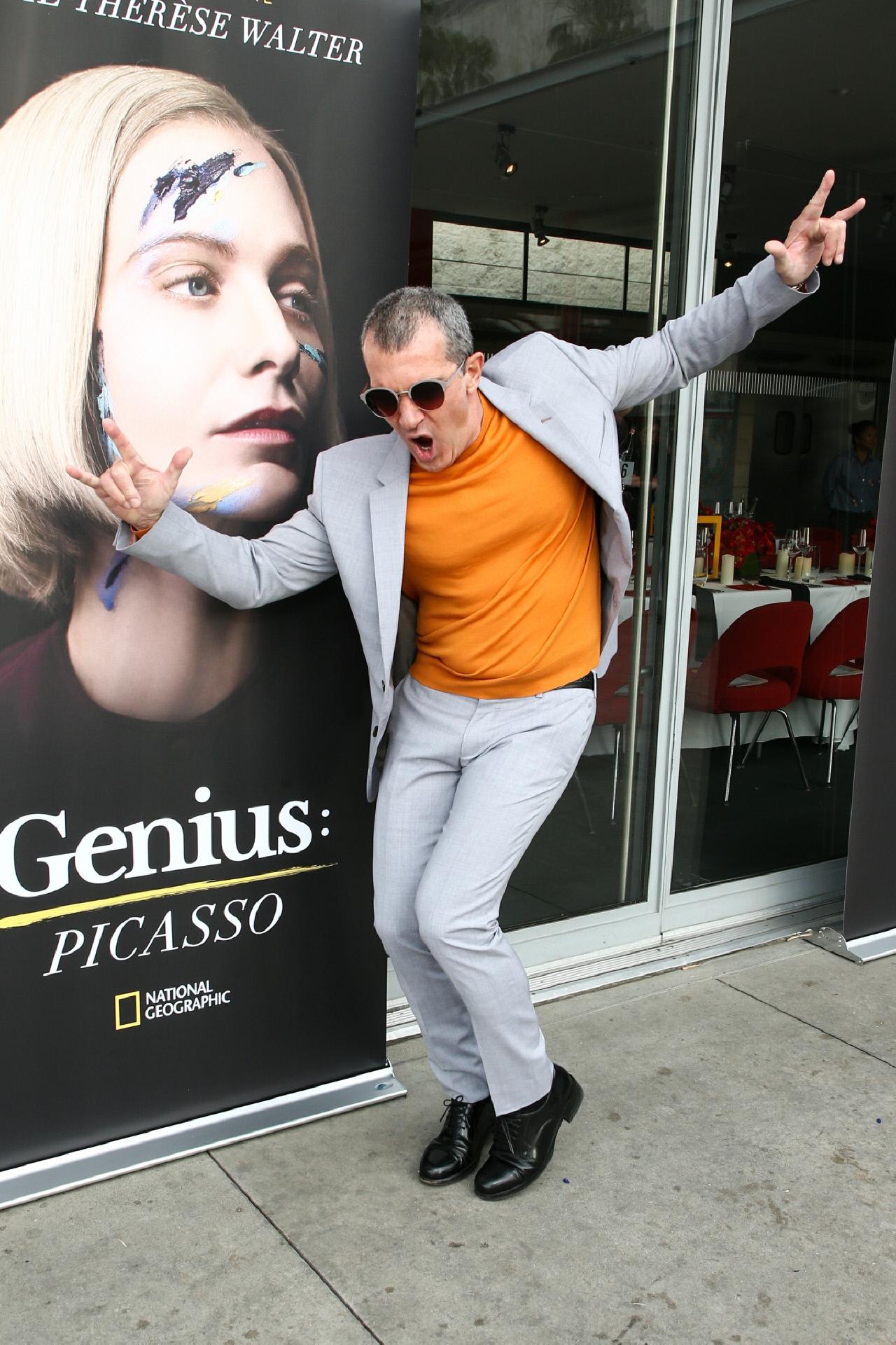 Antonio Banderas en la premiere de Genius: Picasso en Los Angeles.