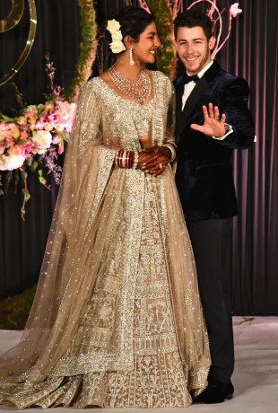 Todos los vestidos de la boda de Priyanka Chopra