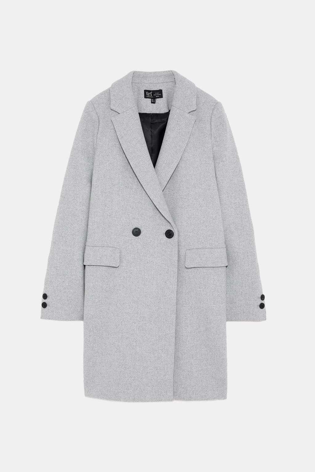 Abrigo corte masculino.De 59,95 a 39,99 euros.