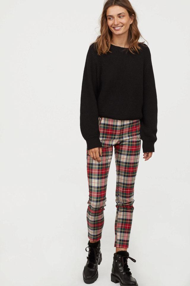 información para 94277 7bf65 Pantalones de cuadros, de H&M   Kate Middleton nos inspira:...