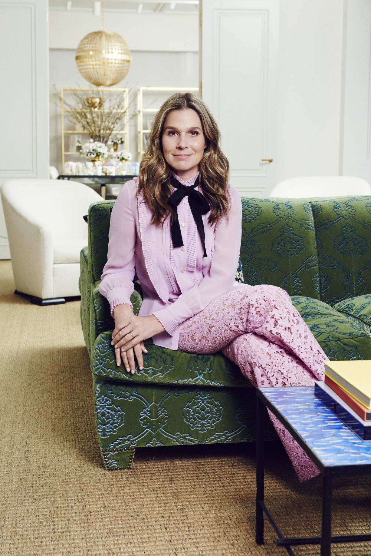 """La nieta de Estée Lauder aprendió que """"la elegancia esta ligada a la..."""