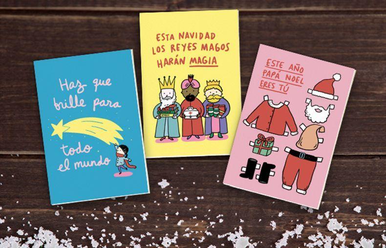 Haz un donativo en nombre de alguien y recibirá una de estas tarjetas...