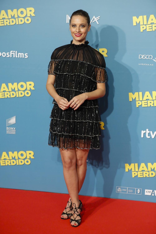 Michelle Jenner durante el estreno de Miamor Perdido.