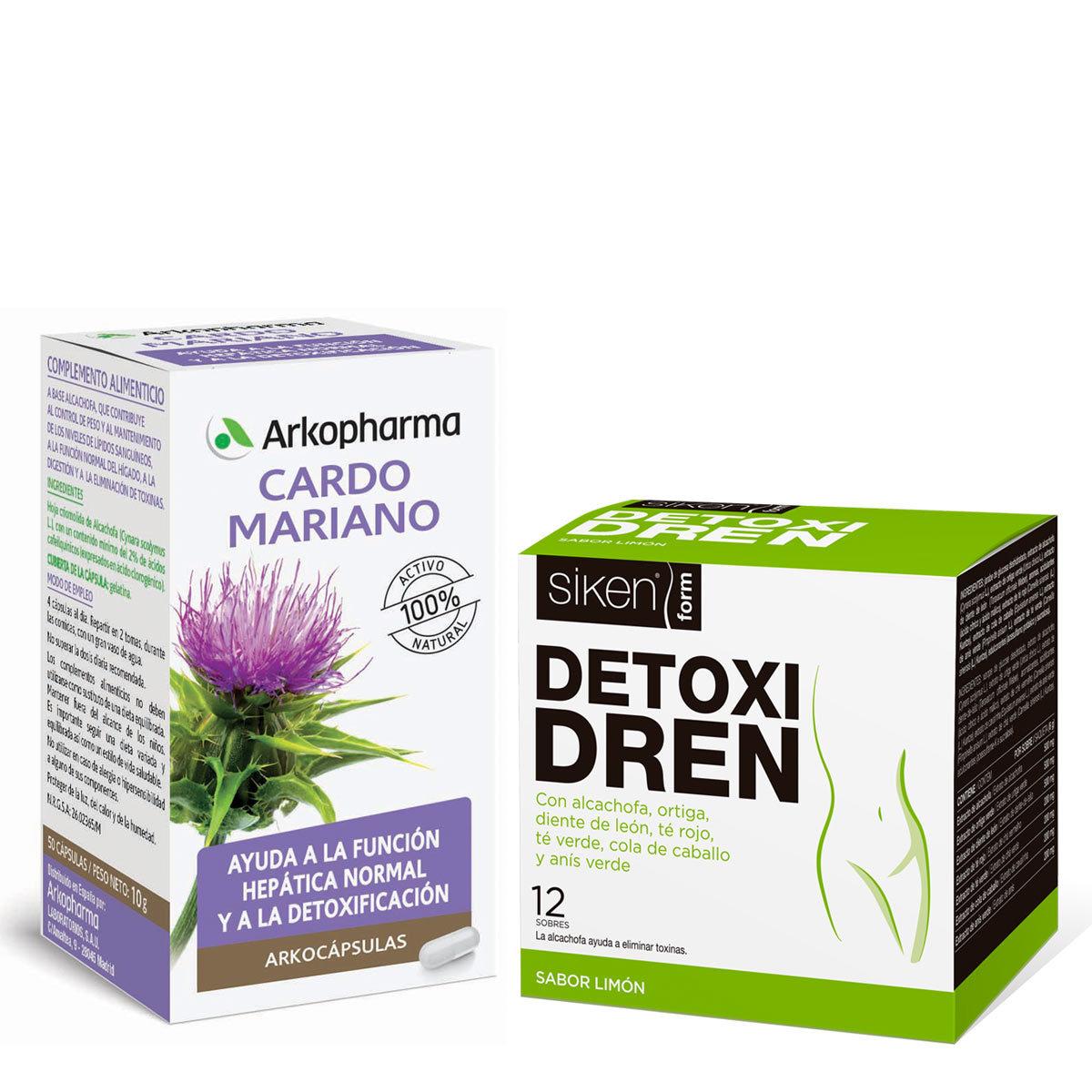 Arkocápsulas Cardo Mariano, Arkopharma (8,40 euros), Detoxidren,...