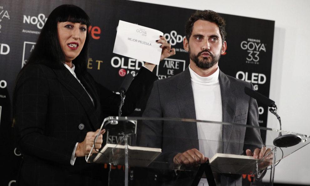 Rossy de Palma y Paco Leon anuncian los nominados de la 33 edición de...
