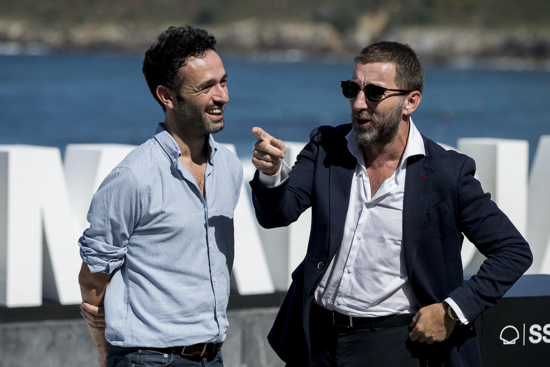 Rodrigo Sorogoyen y Antonio de la Torre en el festival de cine de San...