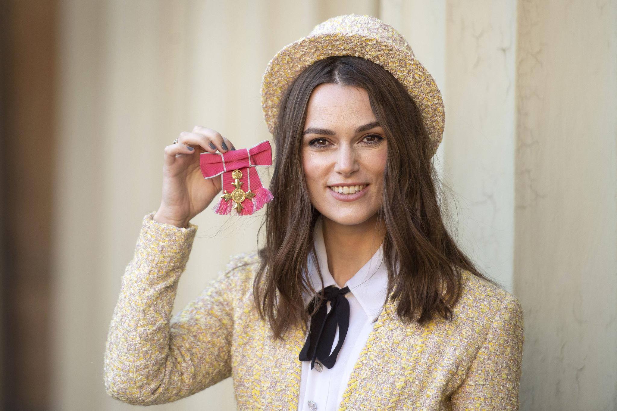 Chanel es una de las firmas favoritas de Keira Knightley