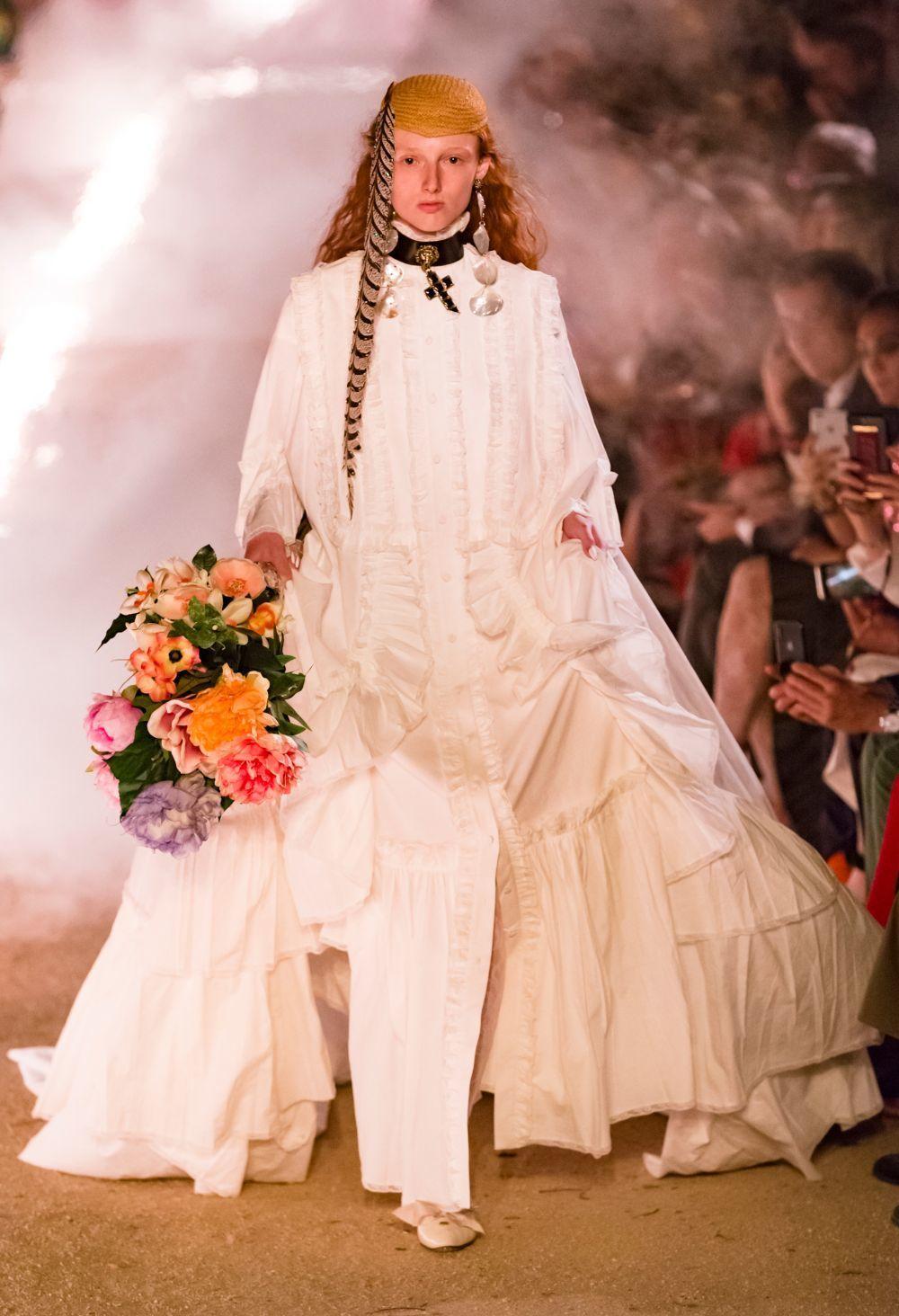Cierre de la colección crucero de Gucci para 2019.