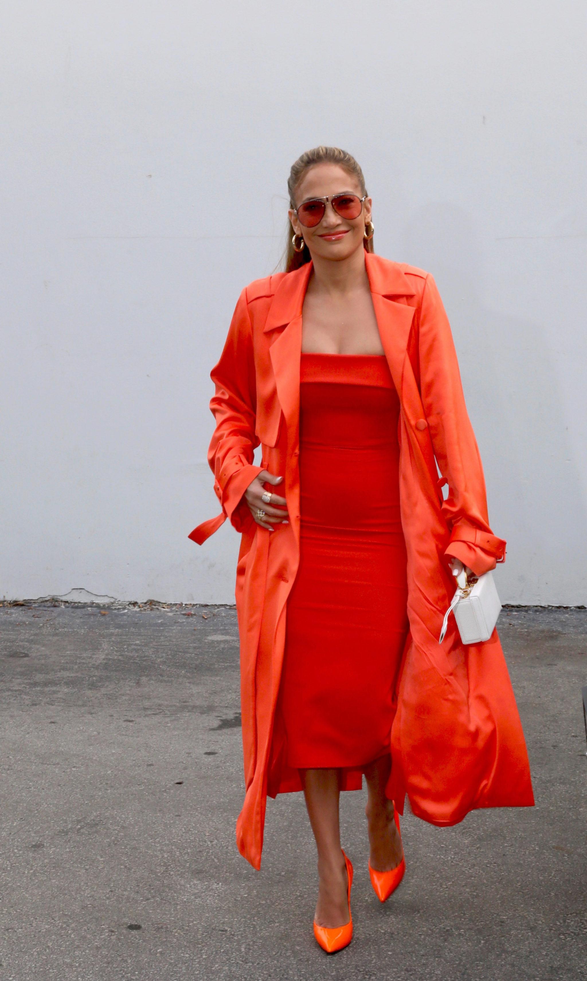 Jennifer Lopez en Miami para promocionar su