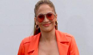Jennifer Lopez en Miami para promocionar su última película.