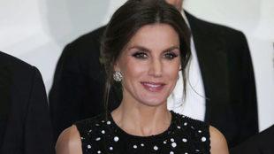 La reina Letizia en los premios Mariano de Cavia, Luca de Tena y...
