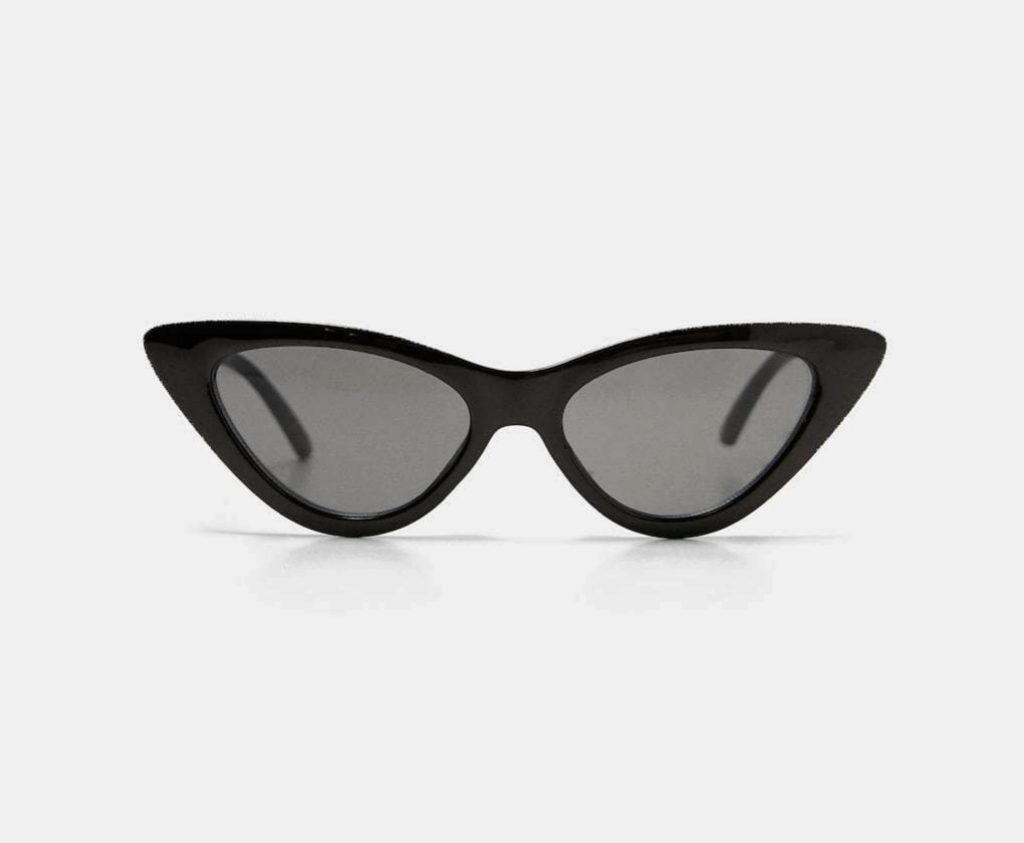 Gafas de sol estilo cat eye, de Zara (15,95 euros).