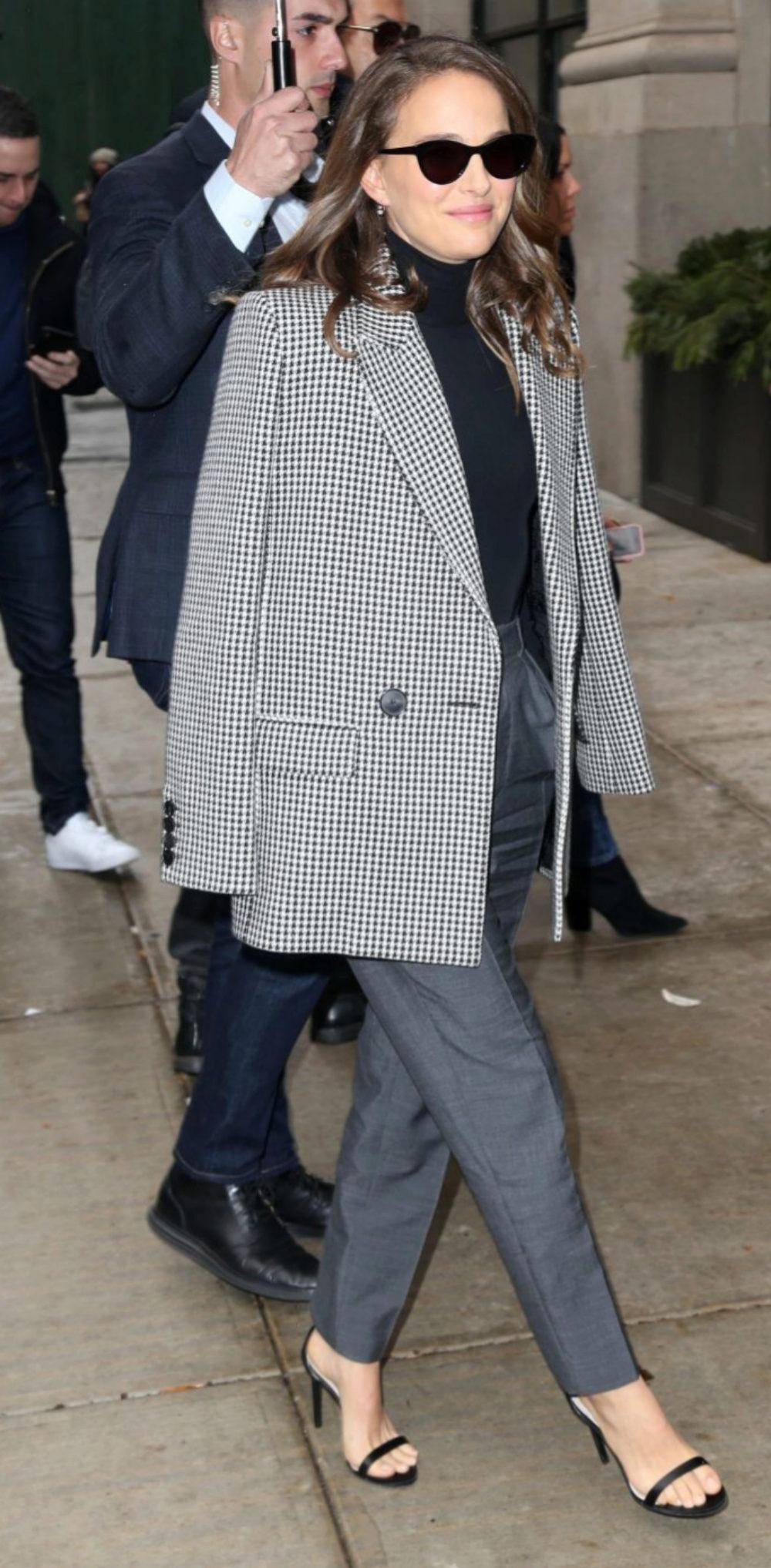 Natalie Portman por las calles de Nueva York.