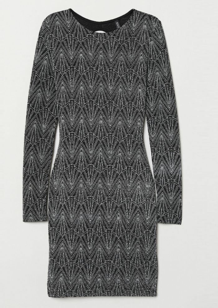 Vestido de lentejuelas de H&M. ( 29,99 euros) .