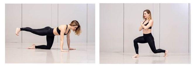 Los pasos de baile se combinan con rutinas 'fit'
