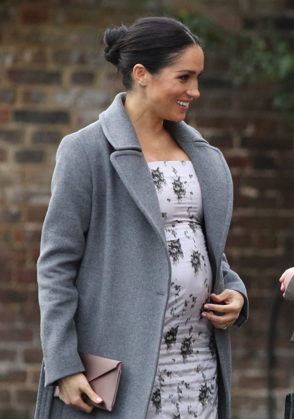La Duquesa de Sussex ha lucido su embarazo con un ce
