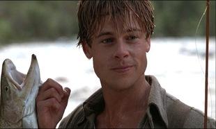 En <em>El río de la vida</em> pudimos ver a un Brad Pitt adolescente...