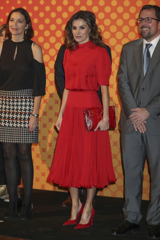La reina Letizia durante la V edici
