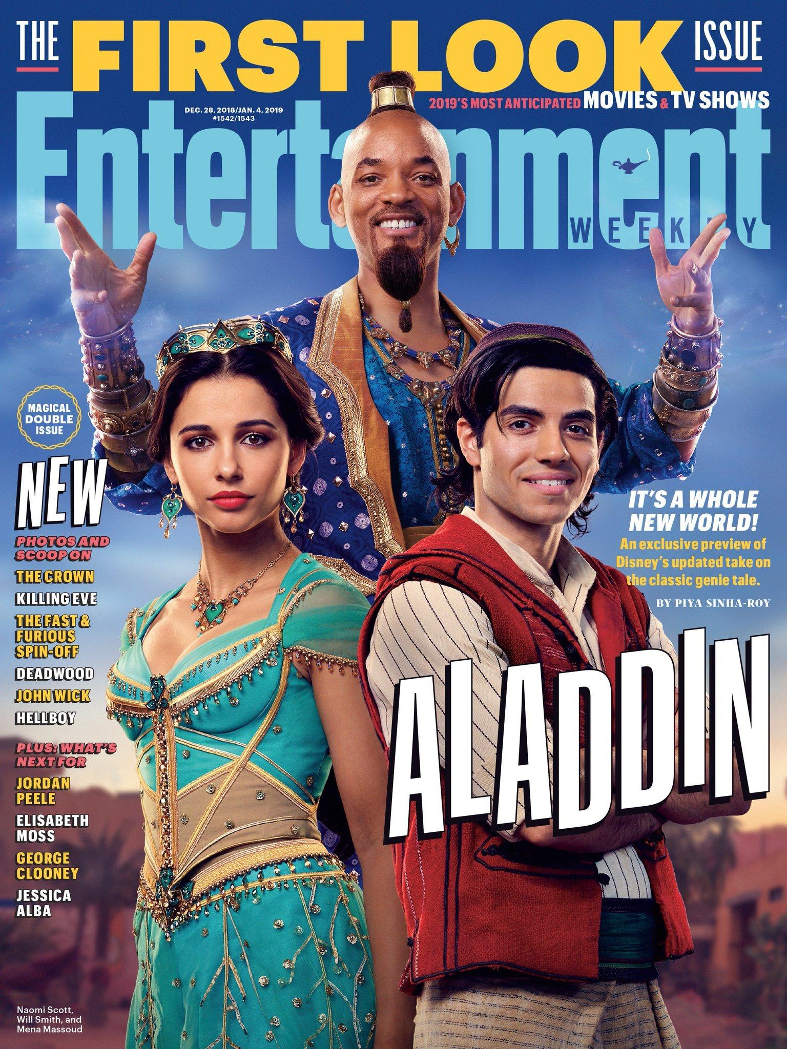 Portada de la revista Entertainment Weekly