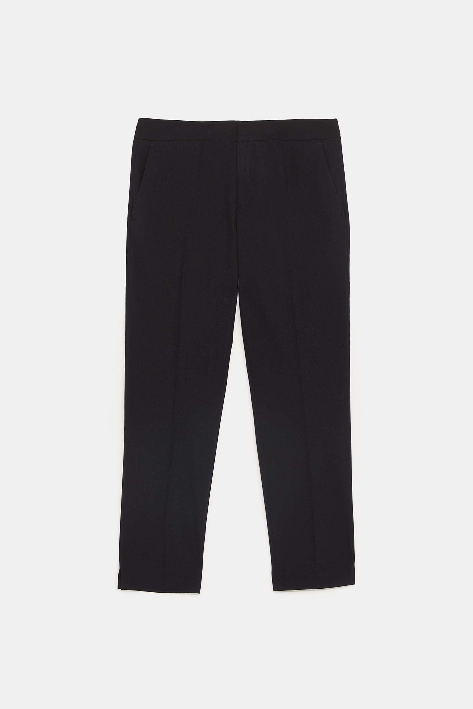 Pantalón negro de Zara (19,95 euros).