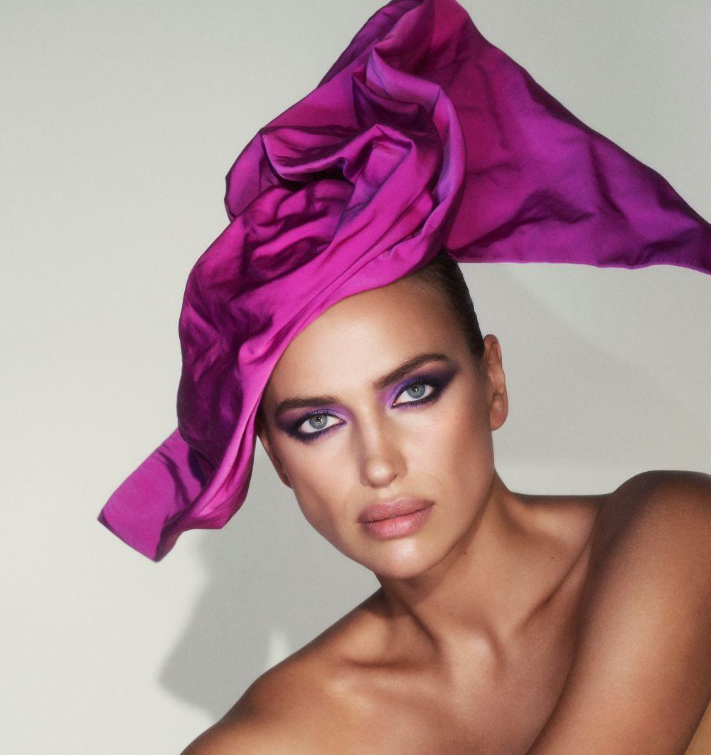 Irina Shayk imagen para Marc Jacobs Beauty 2019.