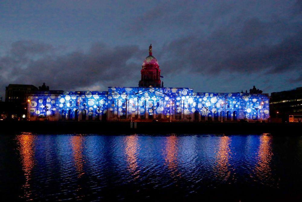 Dublín en Navidad.