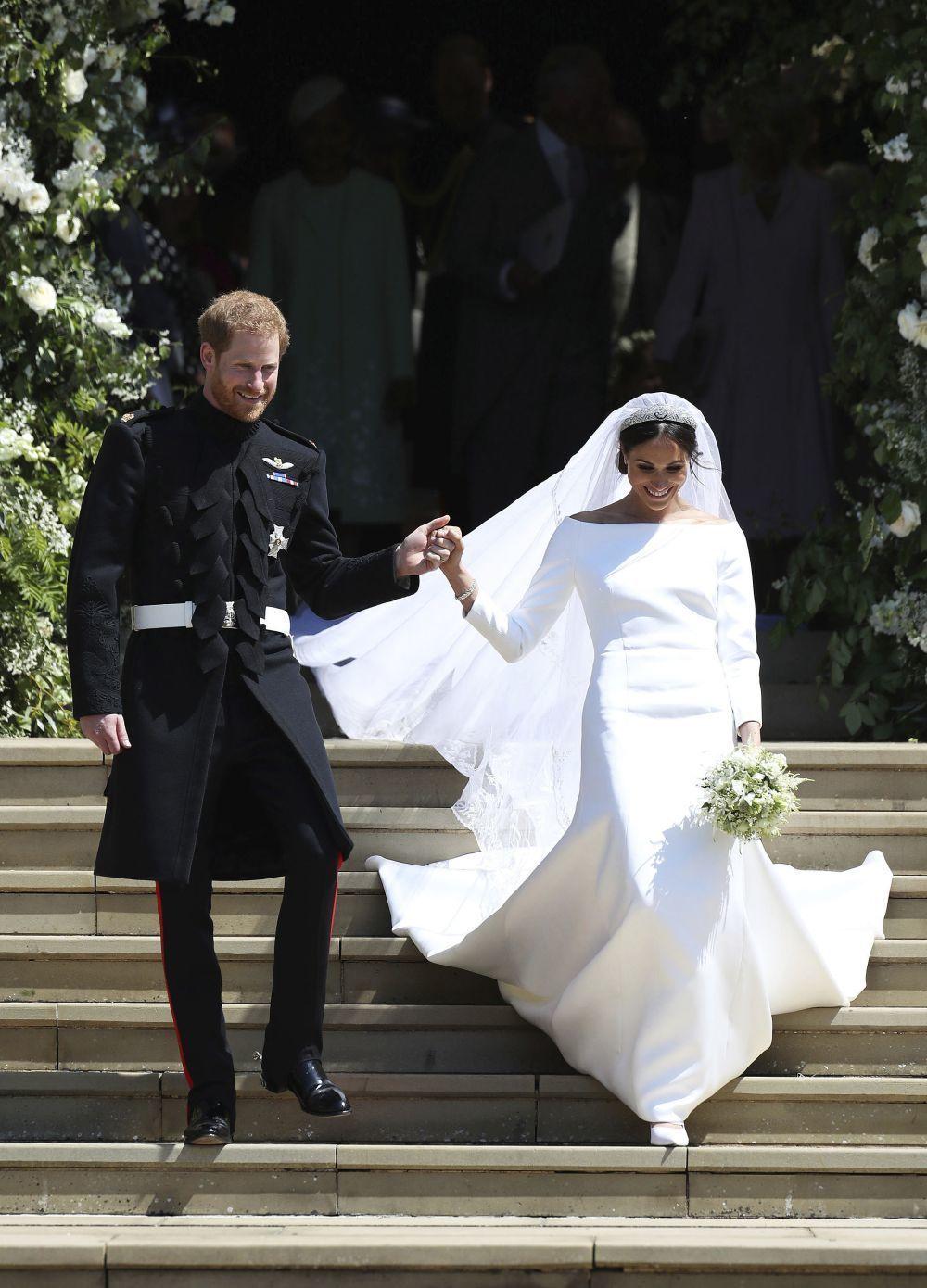 El vestido de novia Meghan Markle.