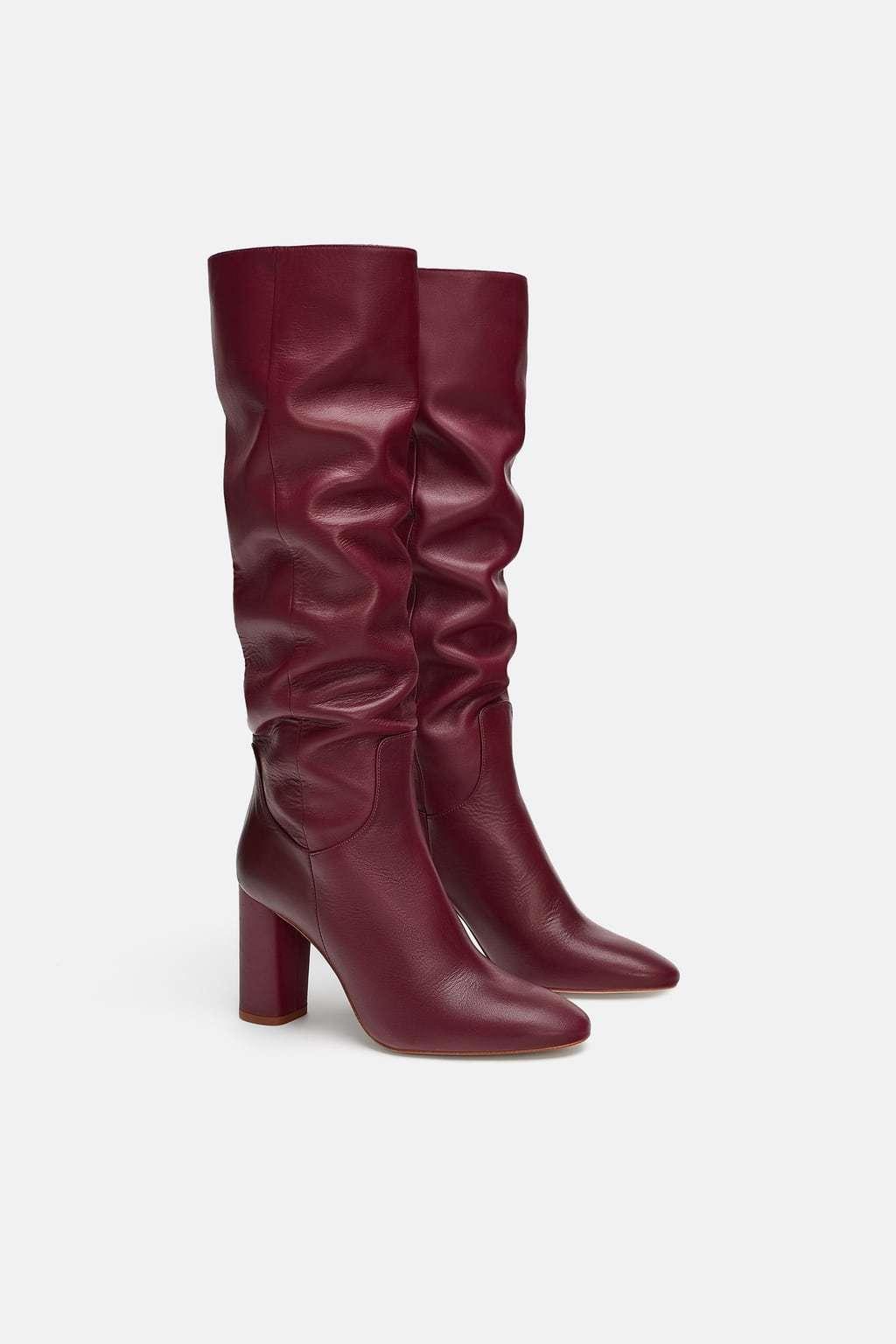 Botas de Zara (99,95 euros).