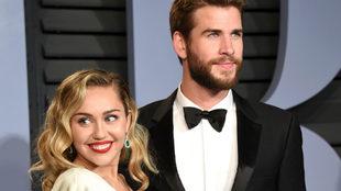 Miley Cyrus y Liam Hemsworth han confirmado que ya están casados.