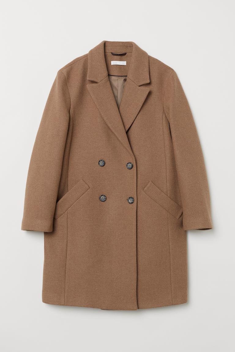 Abrigo en mezcla de lana, de H&M (99 euros).