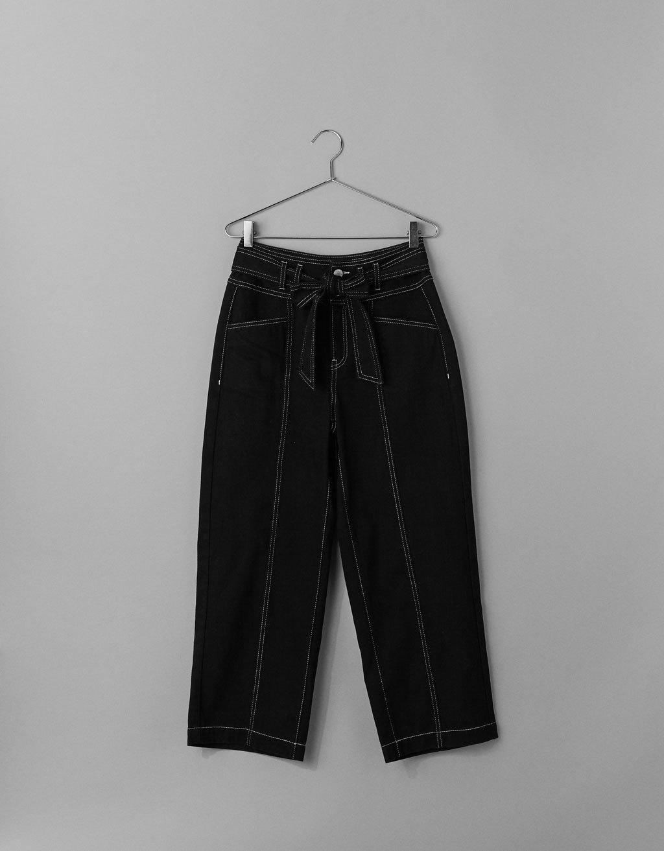 Jeans culotte mid rise, de Bershka (29,99 euros).