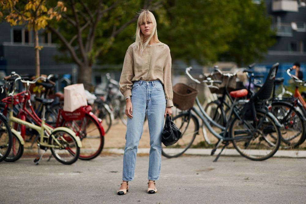 Unos jeans de estilo vintage es todo lo que necesitas esta temporada.