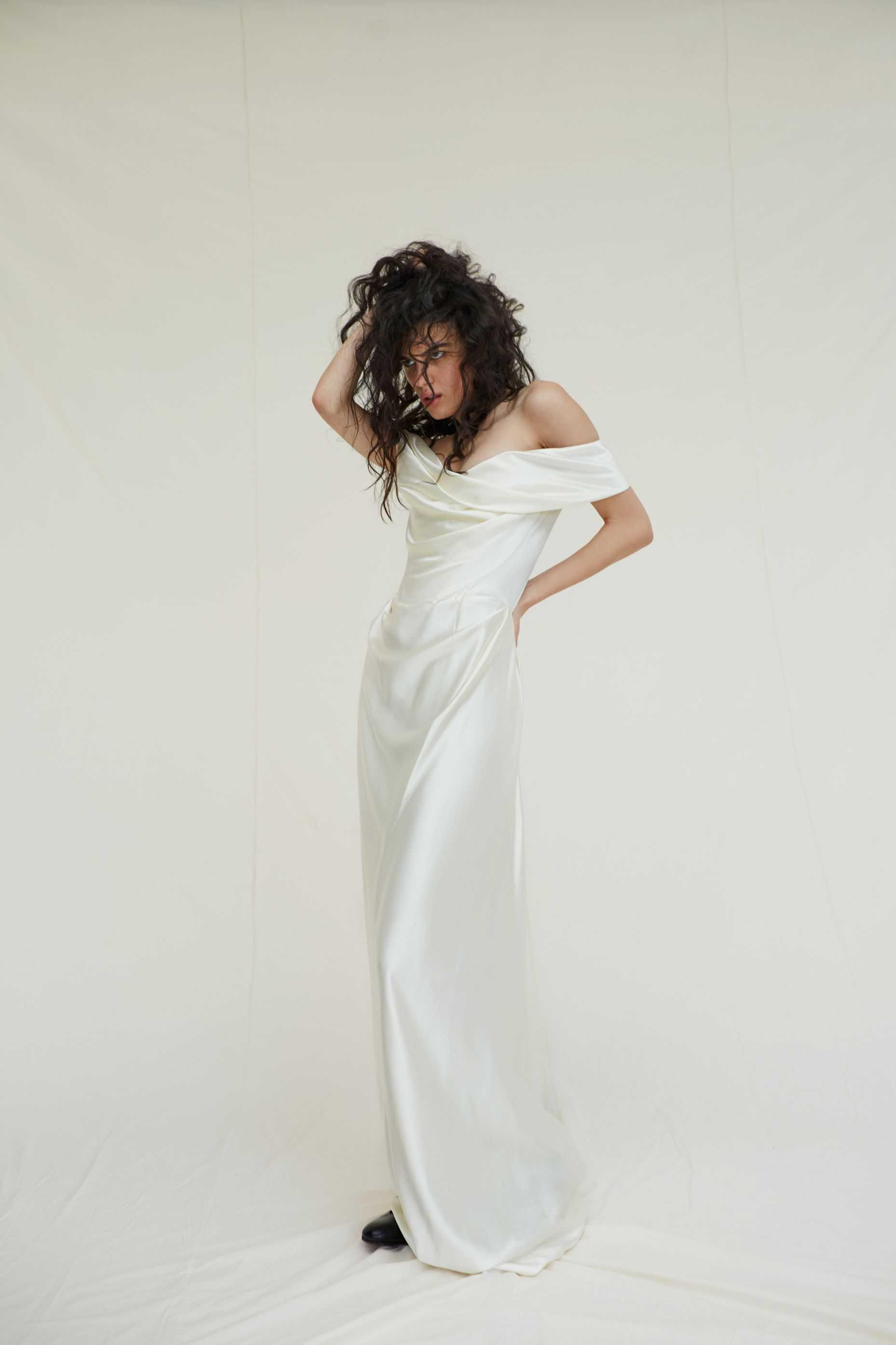 Diseño de novia de la colección Bridal de Vivienne Westwood.