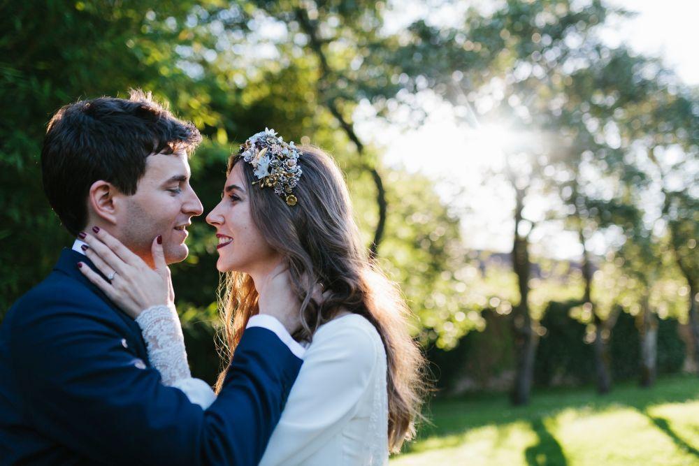 Silvia y Manuel se conocieron en un puente de mayo en Cantabria. Se...