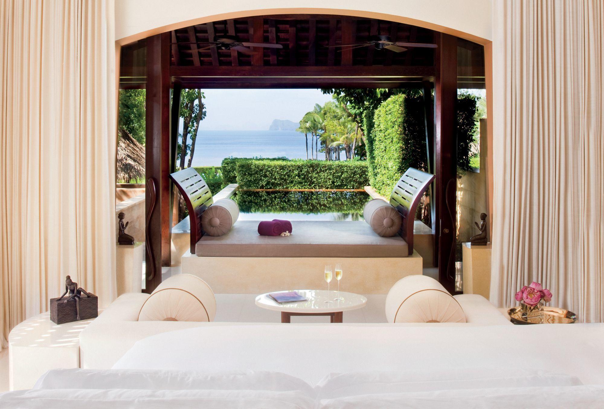 Una de las villas del hotel Phulay Bay Ritz-Carlton Reserve de Krabi.