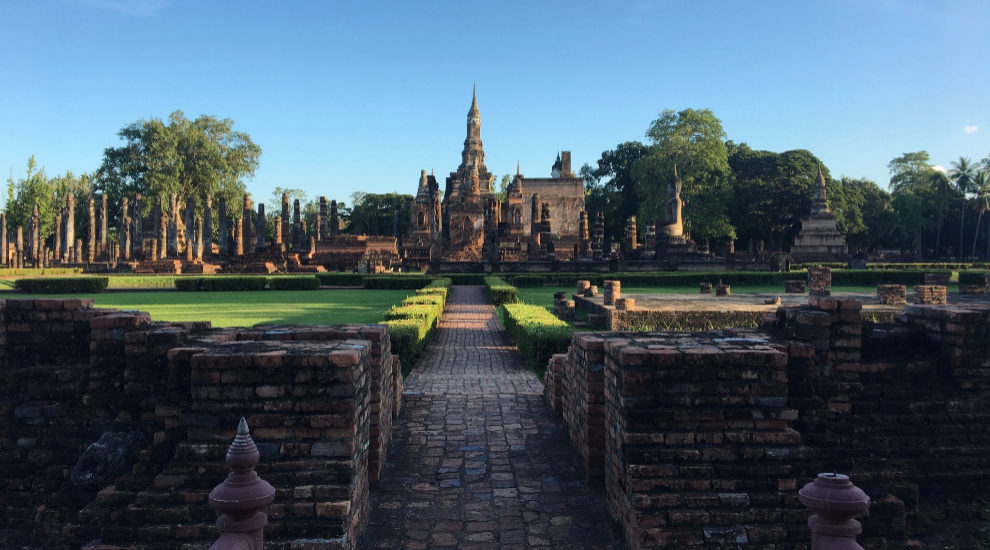 Parque Histórico de Sukhothai, en Tailandia.