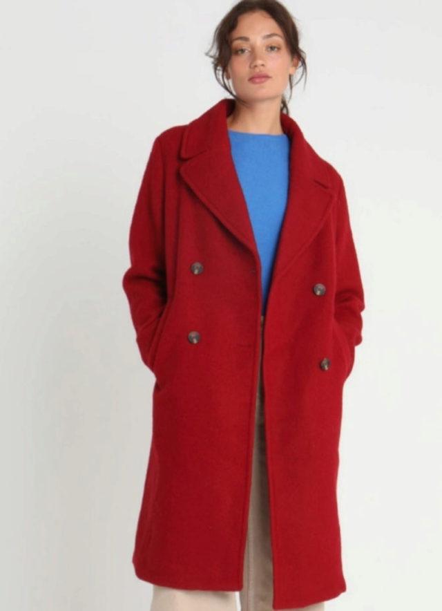 super popular 41863 ebfd4 Abrigo rojo | Rebajas de moda online: Qué comprar en Asos,...
