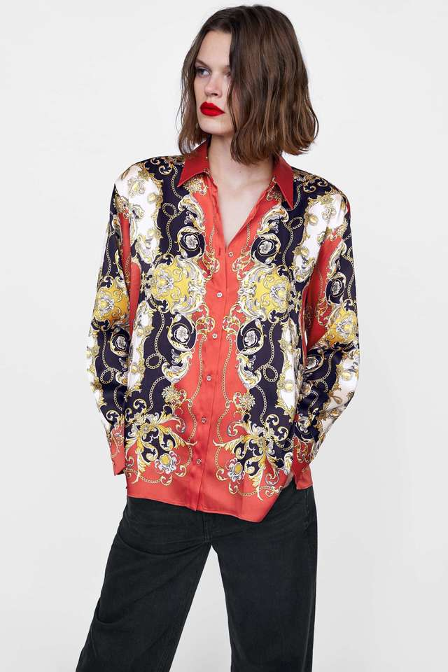 disfruta el precio más bajo venta de tienda outlet imágenes detalladas Camisa de seda, de Zara | Rebajas de invierno 2019: las 20...
