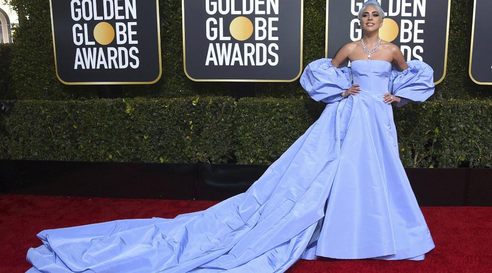 Lady Gaga en los Globos de Oro 2019