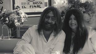 Andreu Buenafuente y Silvia Abril se convierten en John Lennon y Yoko...