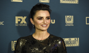 "Penélope Cruz en la ""after party"" de Fox"