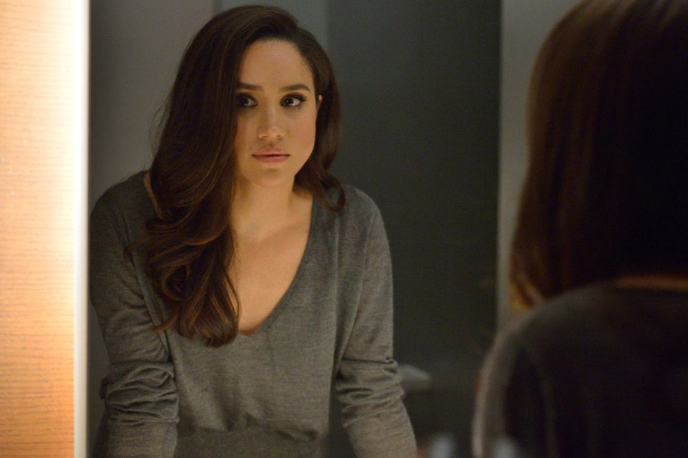Meghan Markle como Rachel Zane, en Suits.