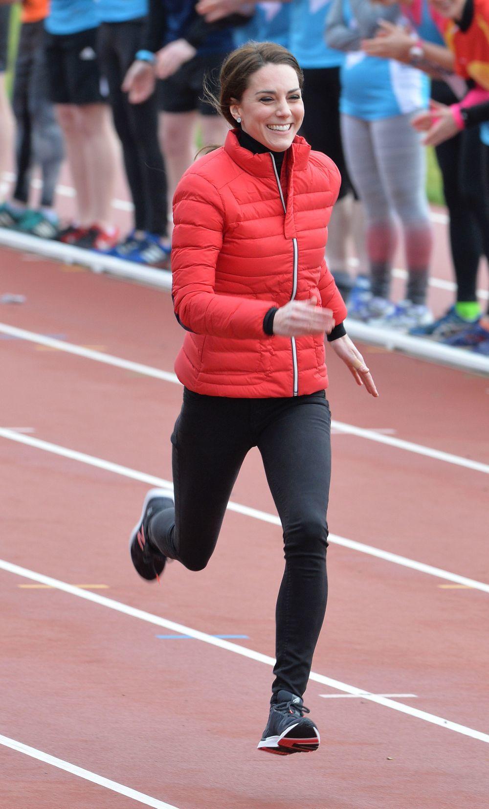 La Duquesa de Cambridge practica deportes como el running.