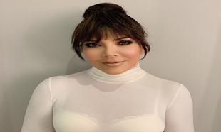 Kriss Jenner con su nuevo look
