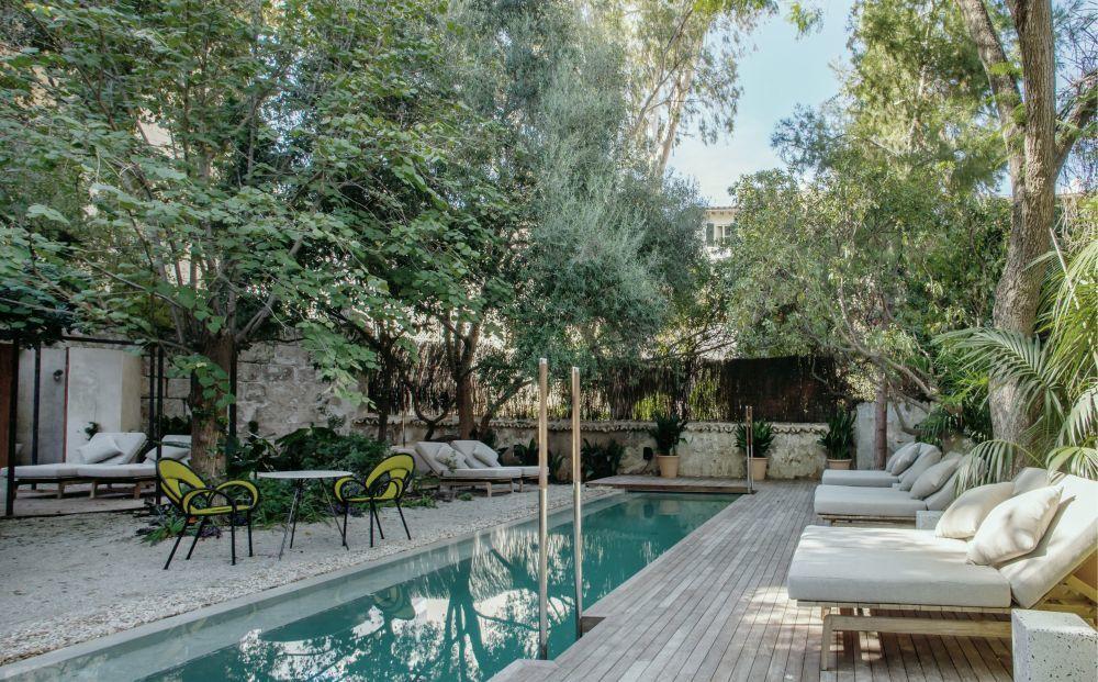 La piscina del Hotel Can Bordoy Grand House & Garden.